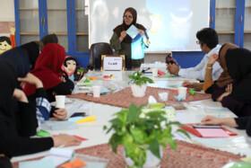 برگزاری کارگاه آموزشی سه روزه کاغذ و تا (شناخت احجام و تجسم اشکال سه بعدی)