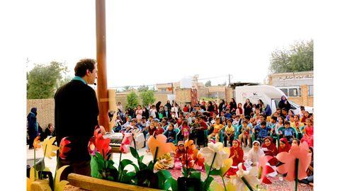 پیک امید کانون فارس در روستای علی آباد