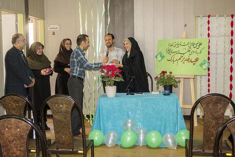 جشن عید غدیر در اداره کل کانون استان همدان