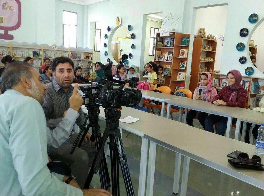 هم یاری فضای مجازی در دعوت مردم به شرکت در جشنواره قصه گویی