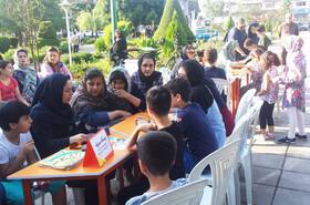 ایستگاه «پویش فصل گرم کتاب» - مرکز فرهنگی هنری کانون لاهیجان