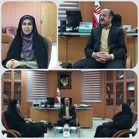 دیدار مدیرکل کانون پرورش فکری کودکان و نوجوانان استان کردستان با سرپرست فرمانداری شهرستان بانه