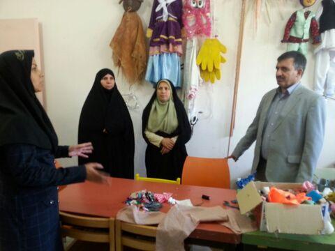 گزارش مصور بازدید فرماندار شهرستان قاینات از مرکز فرهنگی هنری قاین