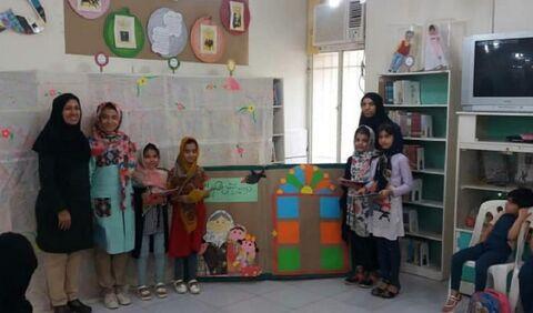 برگزاری جشن قصهگویی در مرکز فرهنگی هنری کانون شماره یک خرمشهر