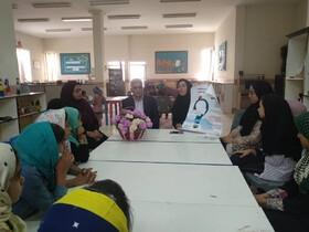 حضور رییس آموزش و پرورش در کارگاه قصهگویی مرکز فرهنگیهنری نیمروز(سیستان و بلوچستان)