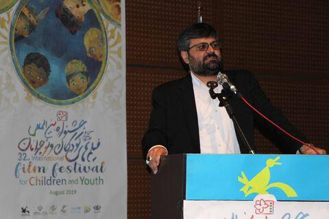 گزارش تصویری افتتاحیه سیودومین جشنواره بینالمللی فیلمهای کودک و نوجوان در قم