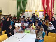 جشن قصهگویی در مرکز شماره 4 همدان برگزار شد