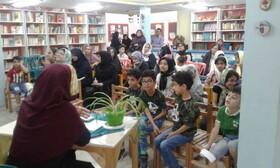 برگزاری کارگاه مهارت و فنون قصه در کانون مهدیشهر