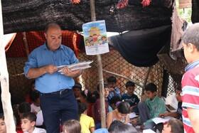 استقبال از ایستگاههای پویش فصل گرم کتاب در کرمانشاه