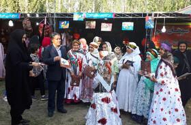 مشارکت کانون نیر در چهاردهمین جشنواره ملی آَش و غذاهای سنتی