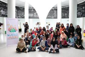 اردوی اعضای دختر کانون تهران در پارک انرژی ـ نیروگاه رودشور