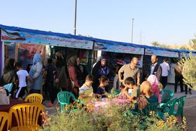 مشارکت کانون سمنان در نمایشگاه هفته دولت