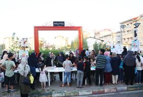 ایستگاه «پویش فصل گرم کتاب» در گیلان- مرکز شماره 3 کانون رشت