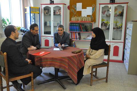 بازدید مدیرکل کانون استان اردبیل از مراکز و شرکت در ویژهبرنامههای استانی(2)
