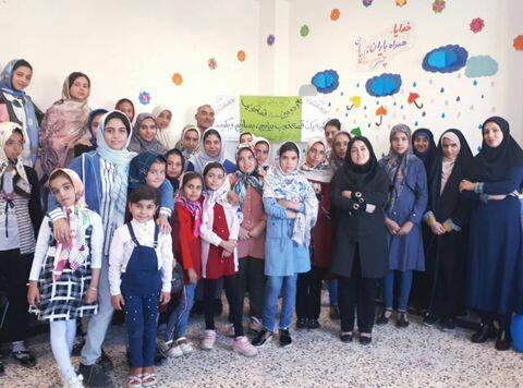 جشن و کارگاه قصه گویی در مرکز صفی آباد