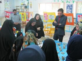 بازدید مدیر کل کانون خراسان جنوبی از مرکز فرهنگی هنری بشرویه