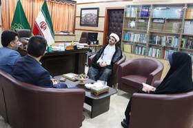 دیدار مدیرکل کانون با رئیس شورای هماهنگی تبلیغات اسلامی گیلان