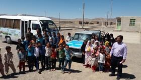 پیک امید کانون خراسان جنوبی در روستای سهل آباد