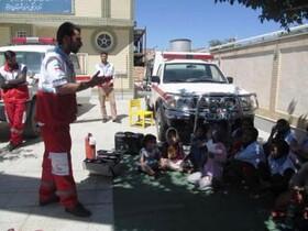 برگزاری کارگاه آموزشی کمکهای اولیه در کانون سربیشه