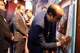 افتتاح مرکز نجوم، کلنگ زنی مرکز جدید، نگارخانه، و کتابخانه سیار  درکانون لرستان