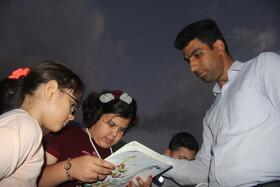 هشتمین و آخرین هفته از پویش فصل گرم کتاب در پارک حضرت قائم «عج» ارومیه