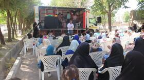 گزارش تصویری آغاز فعالیت تابستانی پیک امید در کانون استان قزوین