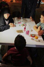 گزارش تصویری پویش «فصل گرم کتاب» در بوستان شهروند قم