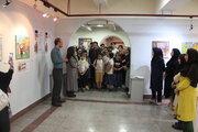 نمایشگاه هنرهای تجسمی اعضای کانون استان تهران در نگارخانه صبا گشایش یافت