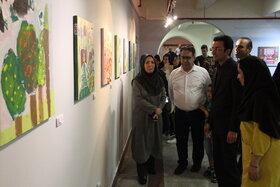 نمایشگاه هنرهای تجسمی اعضای کانون استان تهران در نگارخانه صبا/ عکس از یونس بنامولایی
