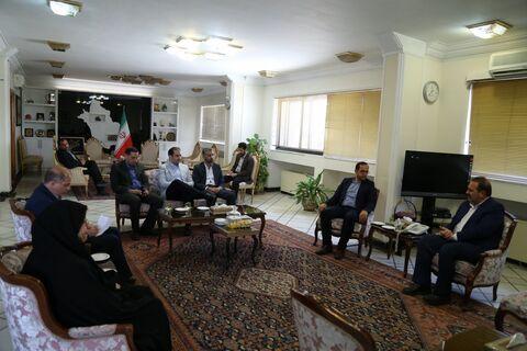 مدیر عامل کانون با استاندار فارس دیدار کرد