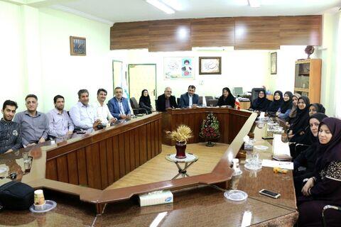تقدیر از کارکنان کانون فارس در هفته دولت