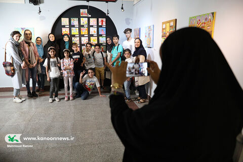 نمایشگاه هنرهای تجسمی اعضای کانون استان تهران در نگارخانه صبا