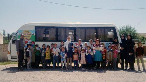 همدلی مردم روستا در قالب قصهگویی