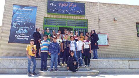 فعالیت های تابستانی مراکز فرهنگی هنری کانون اصفهان 5«مرکز سمیرم 1»