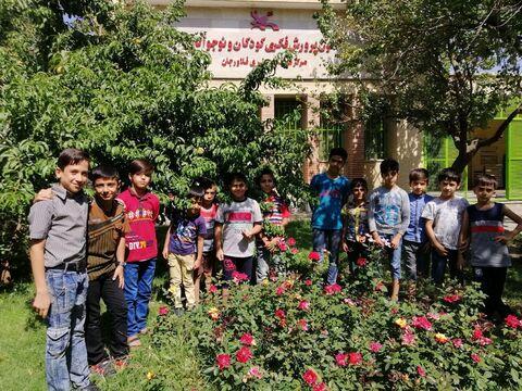 فعالیت های تابستانی مراکز فرهنگی هنری کانون اصفهان 5«مرکز فلاورجان»