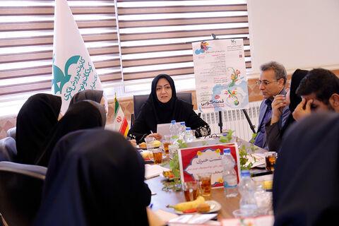 گزارش تصویری نسشت خبری ویژه جشنواره قصه گویی با اصحاب رسانه