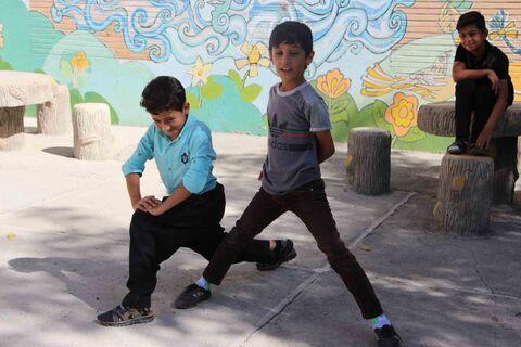 یک روز تابستانی با اعضا پسر مرکز فرهنگی هنری کانون کامیاران
