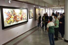 پنجمین انجمن نقاشی کانون استان تهران در گالری صبا/ عکس از یونس بنامولایی