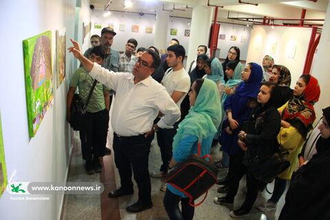 پنجمین انجمن نقاشی کانون استان تهران در گالری صبا
