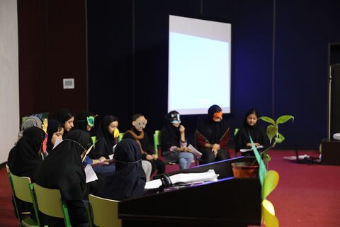 جشن قصه گویی ویژه کودکان و نوجوانان در مرکز شماره 3 بجنورد برگزار شد
