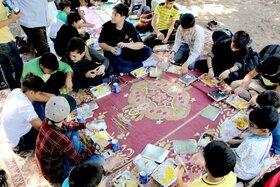 گزارش تصویری اردوی زیست و نجوم اعضای فعال کارگاههای علمی کانون قم