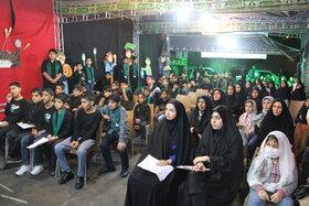 به همت نوجوانان کانون، پرچم عزاداری اباعبدالله الحسین برافراشته شد