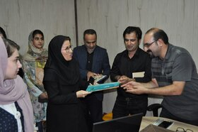 رونمایی از کتاب انجمن ادبی کانون پرورش فکری زنجان با عنوان «سپیدار»