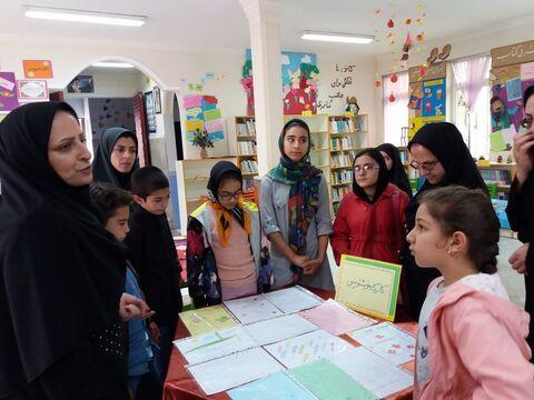 نمایشگاه آثار اعضا کارگاههای تابستانی در کانون نمین