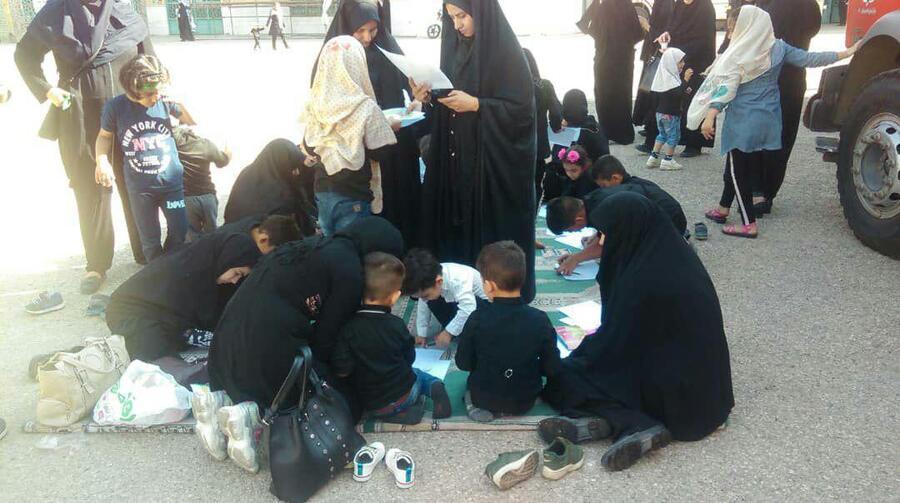 همایش شیرخوارگان حسینی خرم آباد