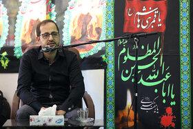 شعرخوانی فاضل نظری مدیرعامل کانون در مراسم عزاداری سید سالار شهیدان در مجتمع مرکزی کانون