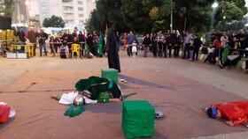 دومین اجرای تعزیه شهادت حضرت علی اکبر (ع) درخرم آباد