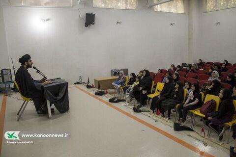 سوگواری در شب تاسوعای حسینی  در مرکز شماره دو همدان
