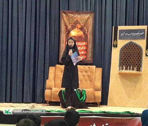 مراسم عزاداری کودکان حسینی(ع) در کانون پرورش فکری کودکان و نوجوانان شهرضا اجرا شد
