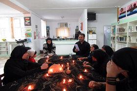 شور حسینی اعضا و مربیان در کانون گرمی